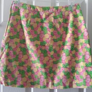 LILLY PULITZER Skirts - LILLY PULIZTER LEMON AND LIME ALINE SKIRT